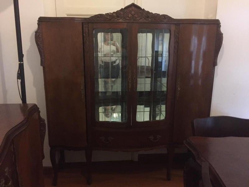 Mueble Antiguo,* Juego Comedor Antiguo Estilo Frances - $ 13.690,00 ...