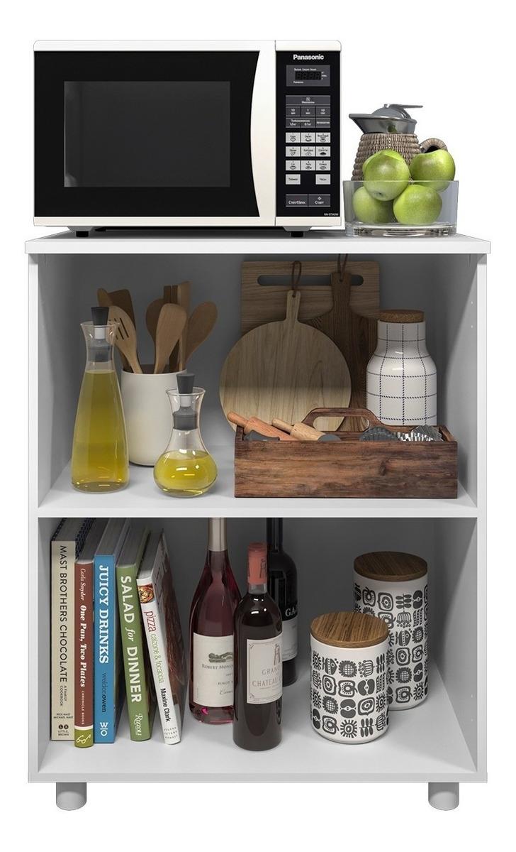 Mueble Auxiliar Cocina Frutero Multiuso Microondas Armario