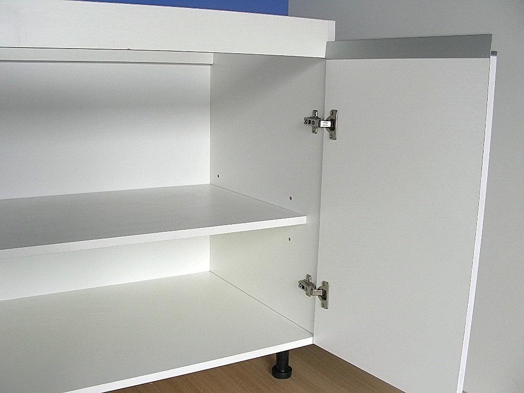 Mueble bajo mesada de cocina mdf 18 mm perfil for Muebles bajos cocina negro