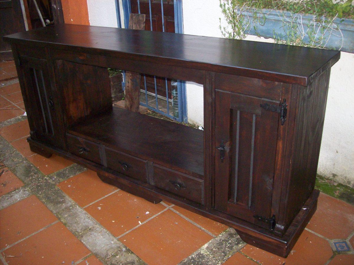 Mueble ba o madera maciza para bacha en for Muebles madera maciza uruguay