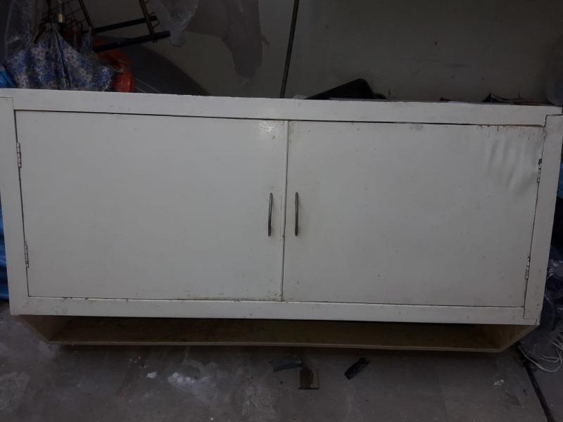 Mueble Cocina Blanco Mdf - $ 600,00 en Mercado Libre
