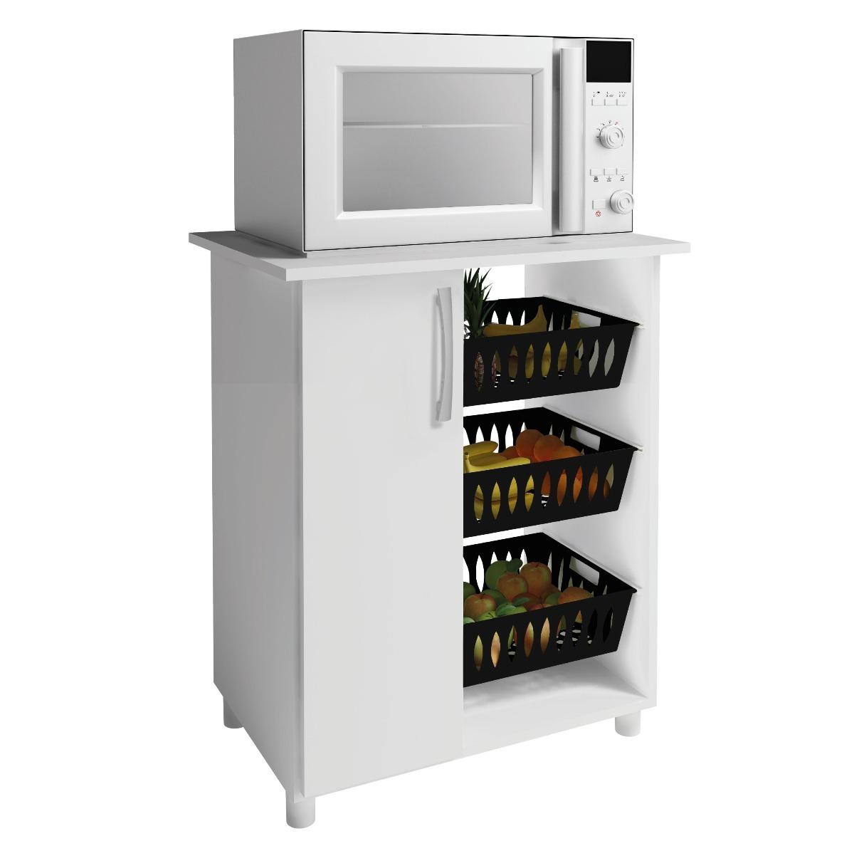 Mueble Cocina Frutero Microondas 1 Puerta 261 - $ 1.400,00 en ...