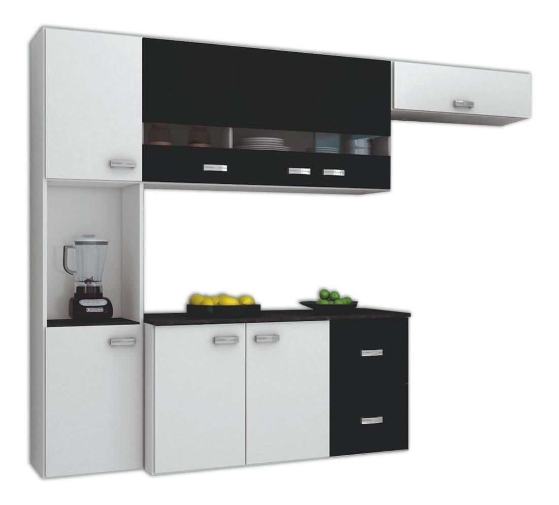 Mueble Cocina Kit Compacta Armario Aéreo Multiuso Compramas