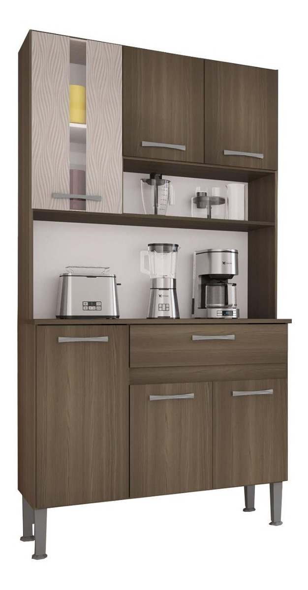 Mueble Cocina Kit Multiuso 6 Puertas 1 Cajon 282 Melissa