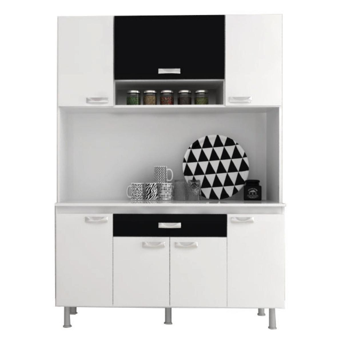 Mueble Cocina Kit Multiuso 7 Puertas 1 Cajon K73 - $ 2.850,00 en ...