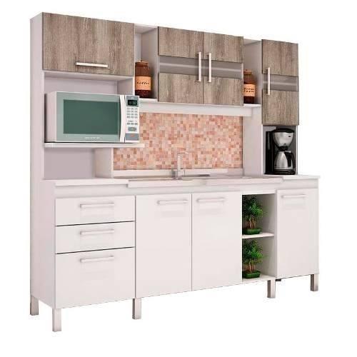 Mueble Cocina Kit Multiuso Microondas 7 Puertas Com080 - $ 7.505,00 ...