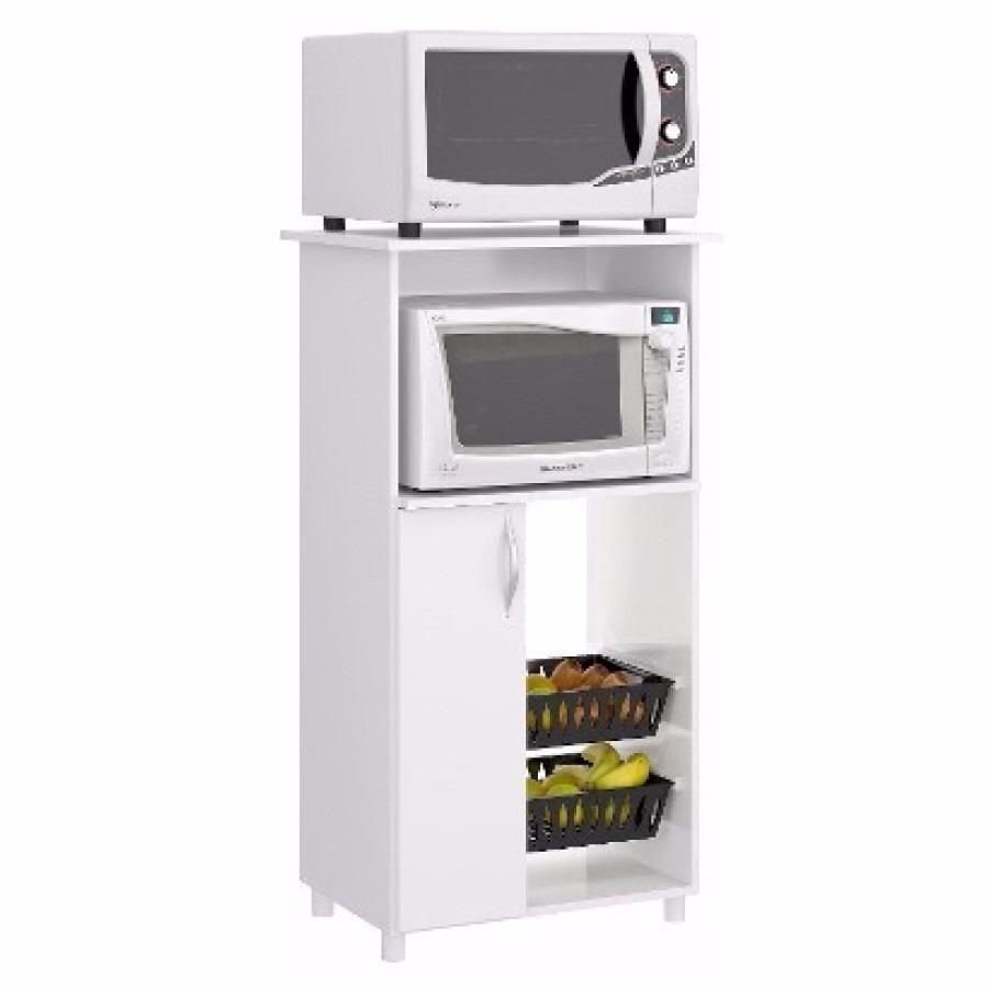 Mueble Cocina Microondas Armario Multiuso. - $ 1.190,00 en Mercado Libre