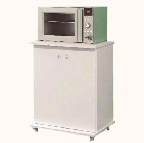 mueble cocina para microondas frutero 2 puertas ba10
