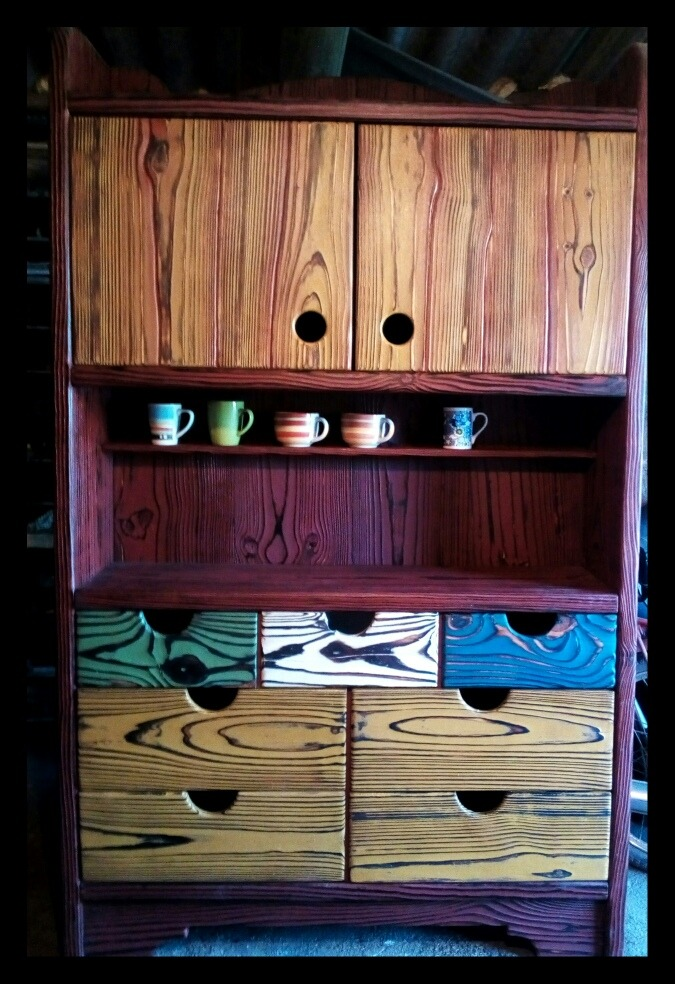 Mueble Cocina Rústico - $ 34.000,00 en Mercado Libre