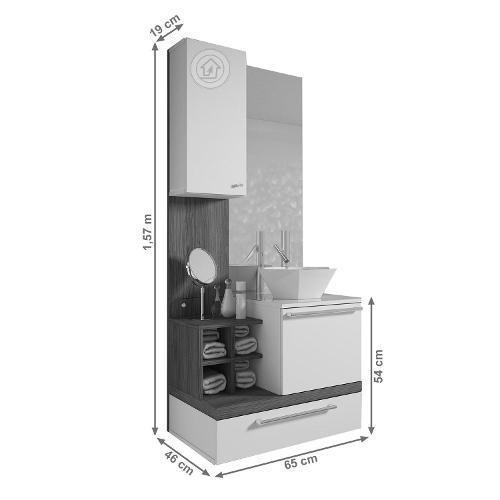 mueble de baño ekipa 100%mdf oferta calidad superior