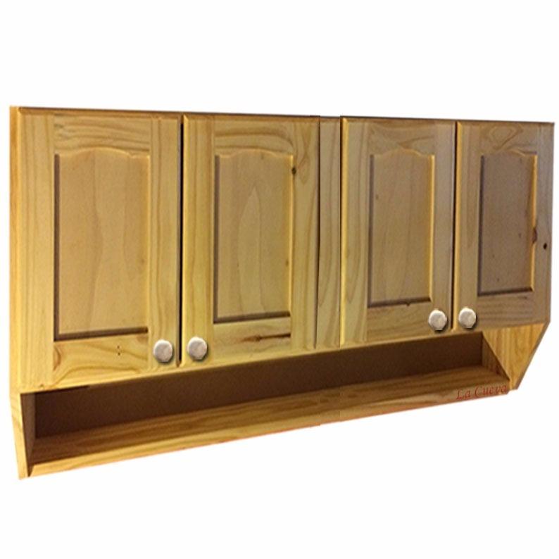 Mueble De Cocina - Aereo 4 Puertas Economico - Madera - Lcm