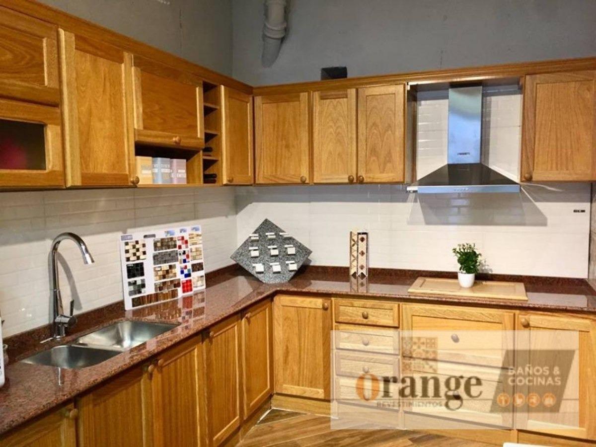Mueble De Cocina Cerejeira (madera Maciza)