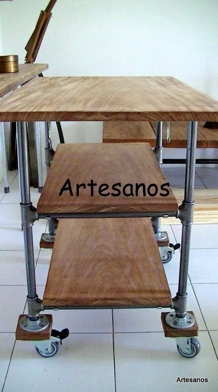 Mueble de cocina isla des ayunador imperdible artesanos - Mueble isla cocina ...