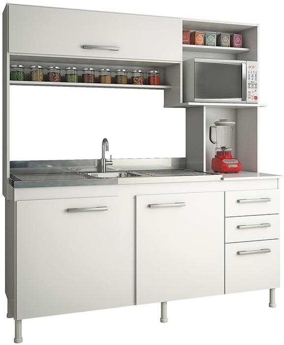 Mueble De Cocina Kit De Cocina Compacta Cocinas Divino - $ 3.398 ...