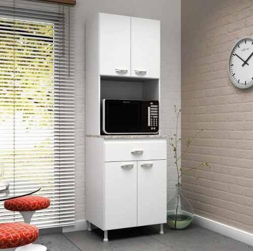 Mueble De Cocina Kit Multiuso 4 Puertas 1 Cajon Blanco K41 - $ 2.000 ...