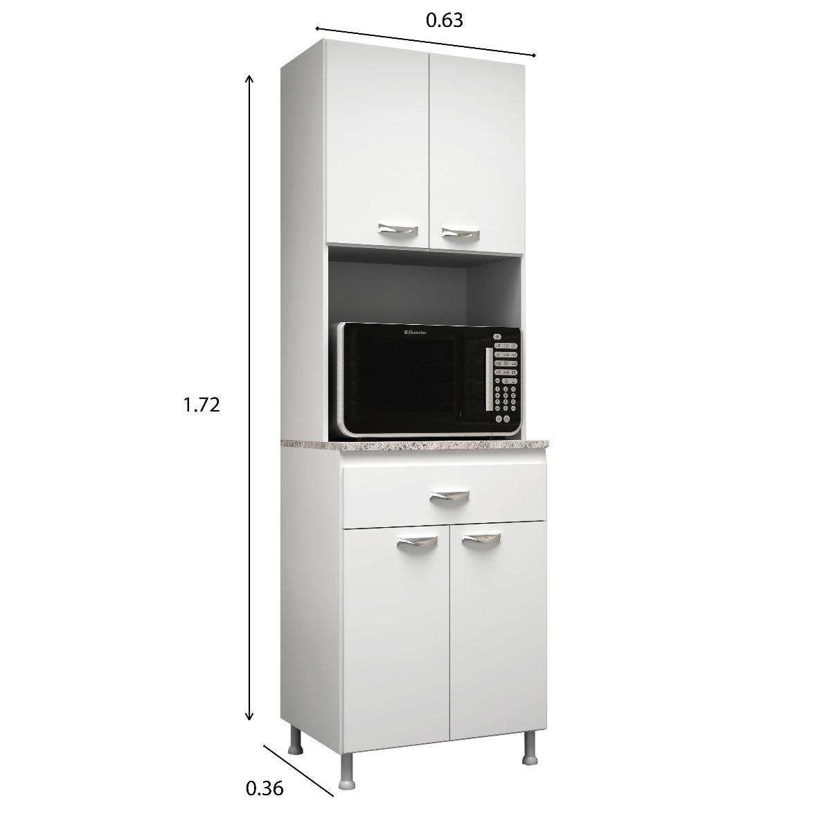 Mueble De Cocina Kit Multiuso 4 Puertas 1 Cajon K41 Blanco - $ 2.100 ...