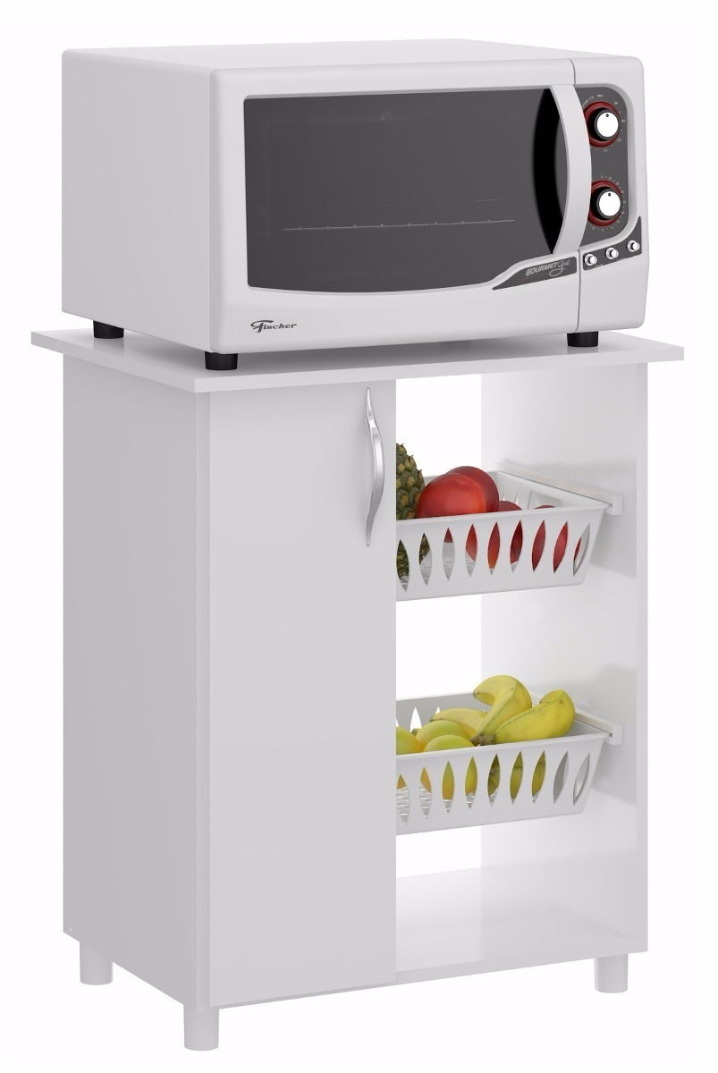 Mueble De Cocina Para Microondas Con Frutero
