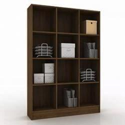 mueble estanteria repisa armario castaño o blanco mobelstore