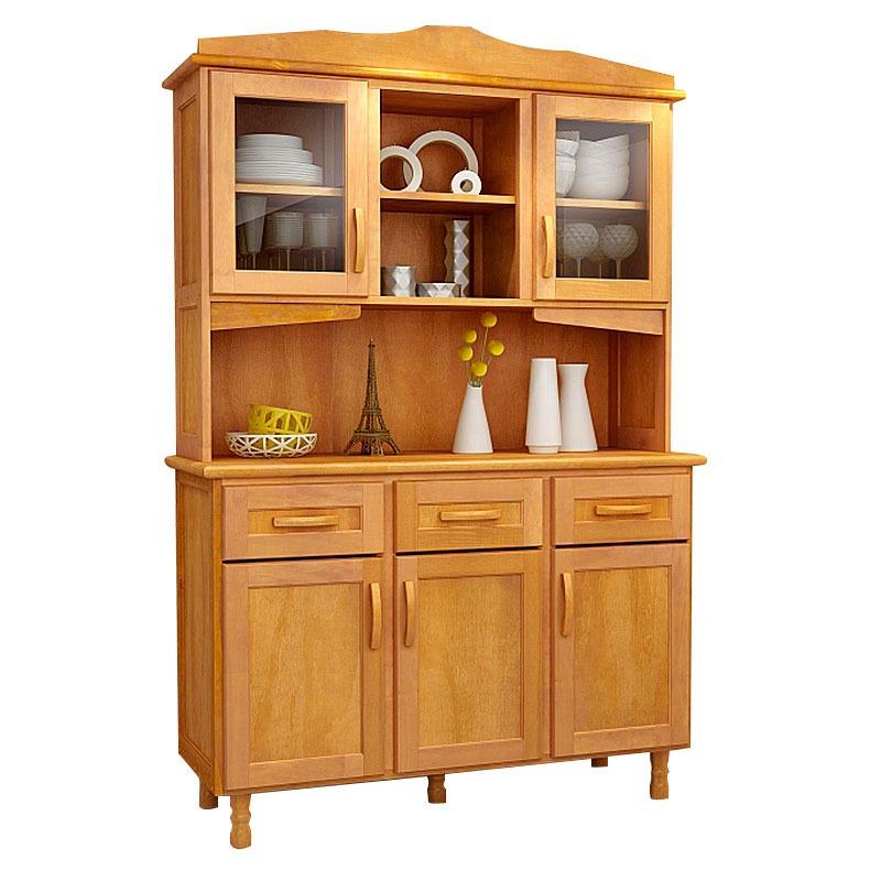 Mueble kit cocina en madera pino maciza 5 puertas alacena - Mueble esquinero cocina ...