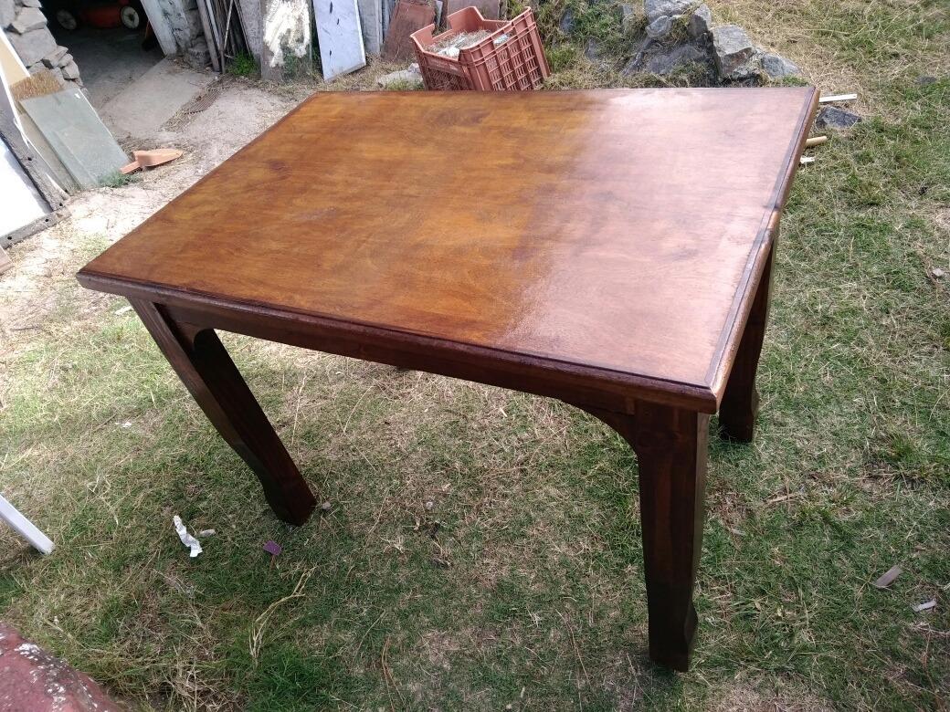 Mueble Mesa Comedor Madera Rustica - $ 2.890,00 en Mercado Libre