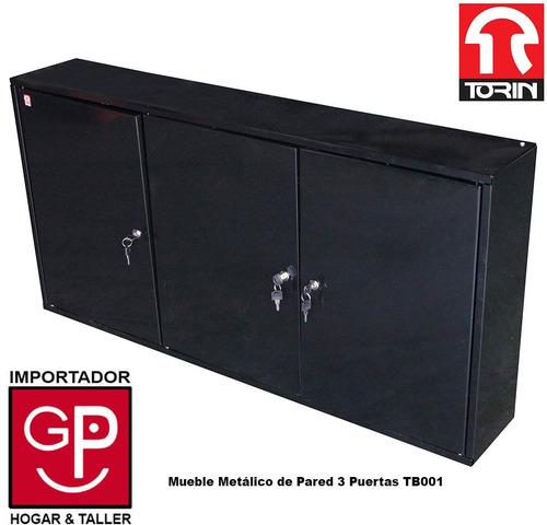 mueble metálico de pared  3 puertas tb001 torin