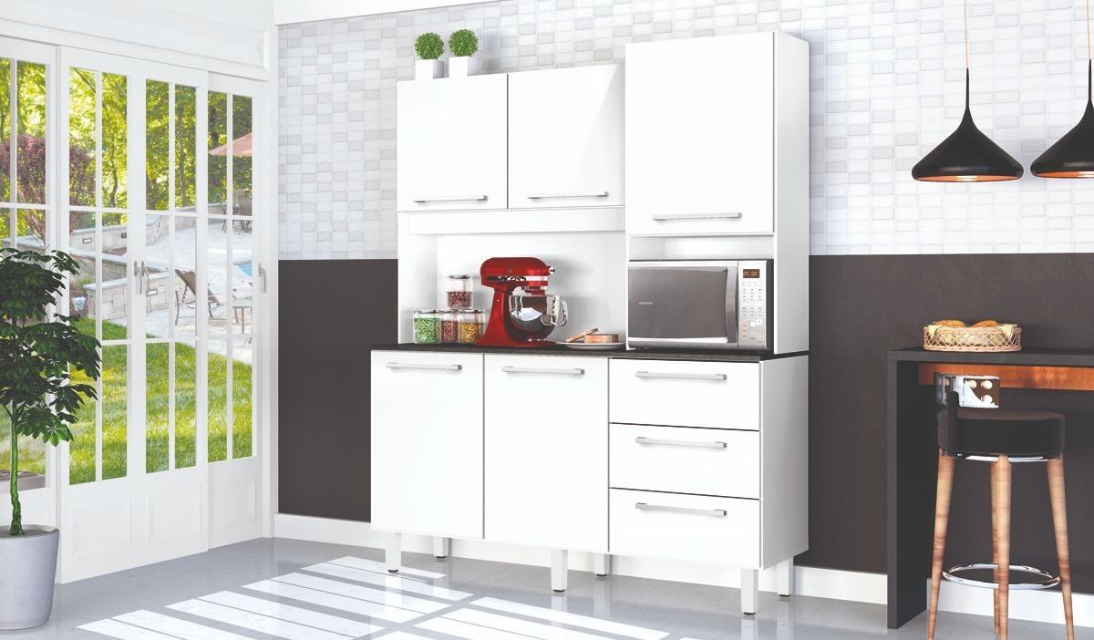 Mueble Modular De Cocina Buen Tamaño 5 Puertas 3 Cajones