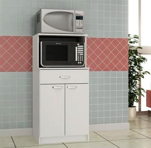Elegant Mueble Multiuso Para Cocina Microondas   Nicolini