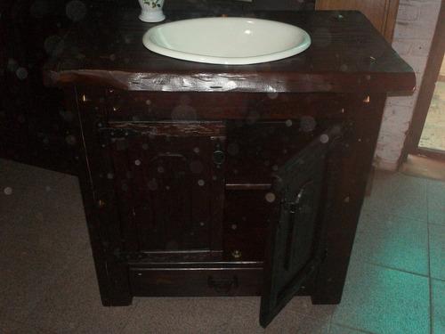 mueble para bacha de baño