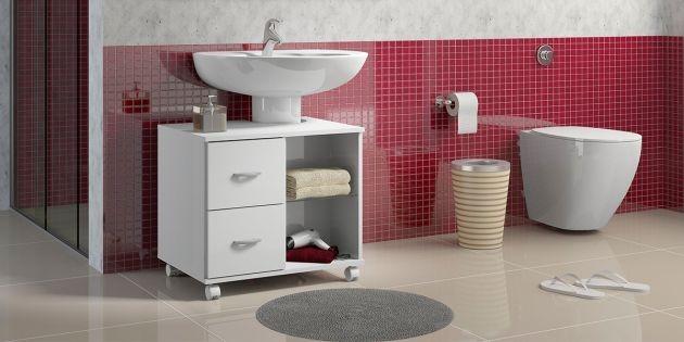 Mueble Para Bano Bajo Pileta Woow 159000 En Mercado Libre - Fotos-de-muebles-para-baos