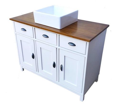 Mueble para ba o en madera se hacen a medida en mercado libre - Muebles bano a medida ...