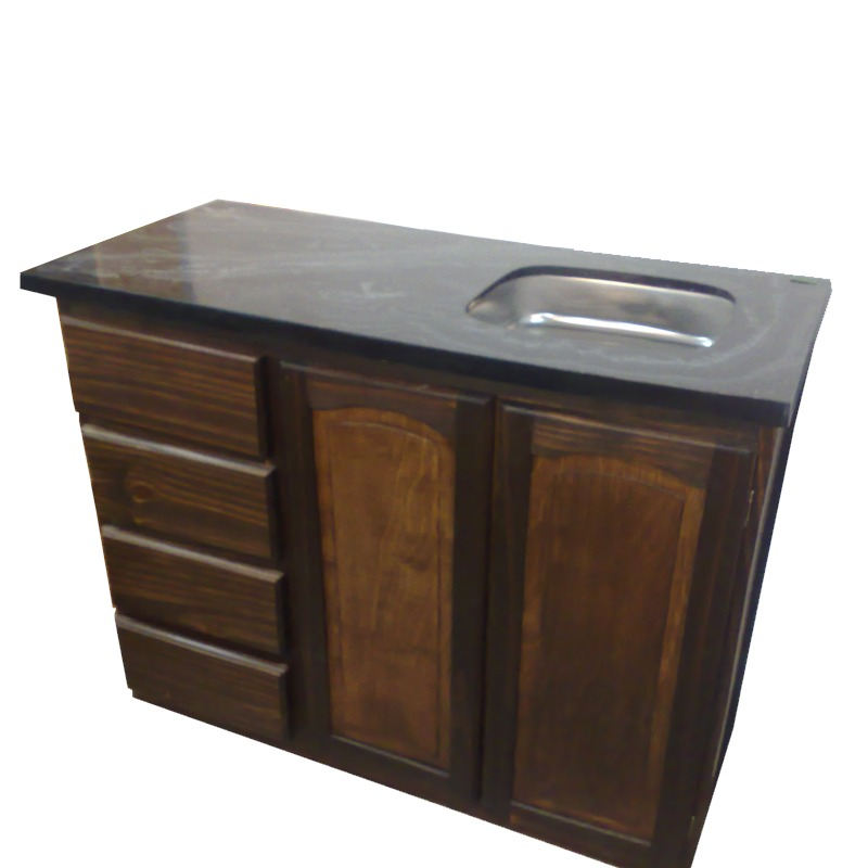 Mueble Para Cocina, Bajo Fabricado En Madera Maciza Gh.equip