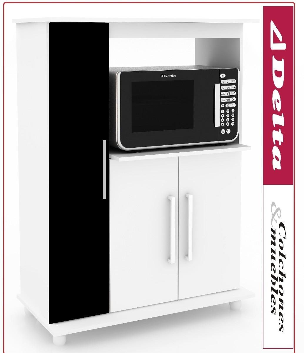 Mueble Para Microondas Alacena Kit De Cocina Equipamiento - $ 2.390 ...