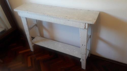 mueble repisa rustico