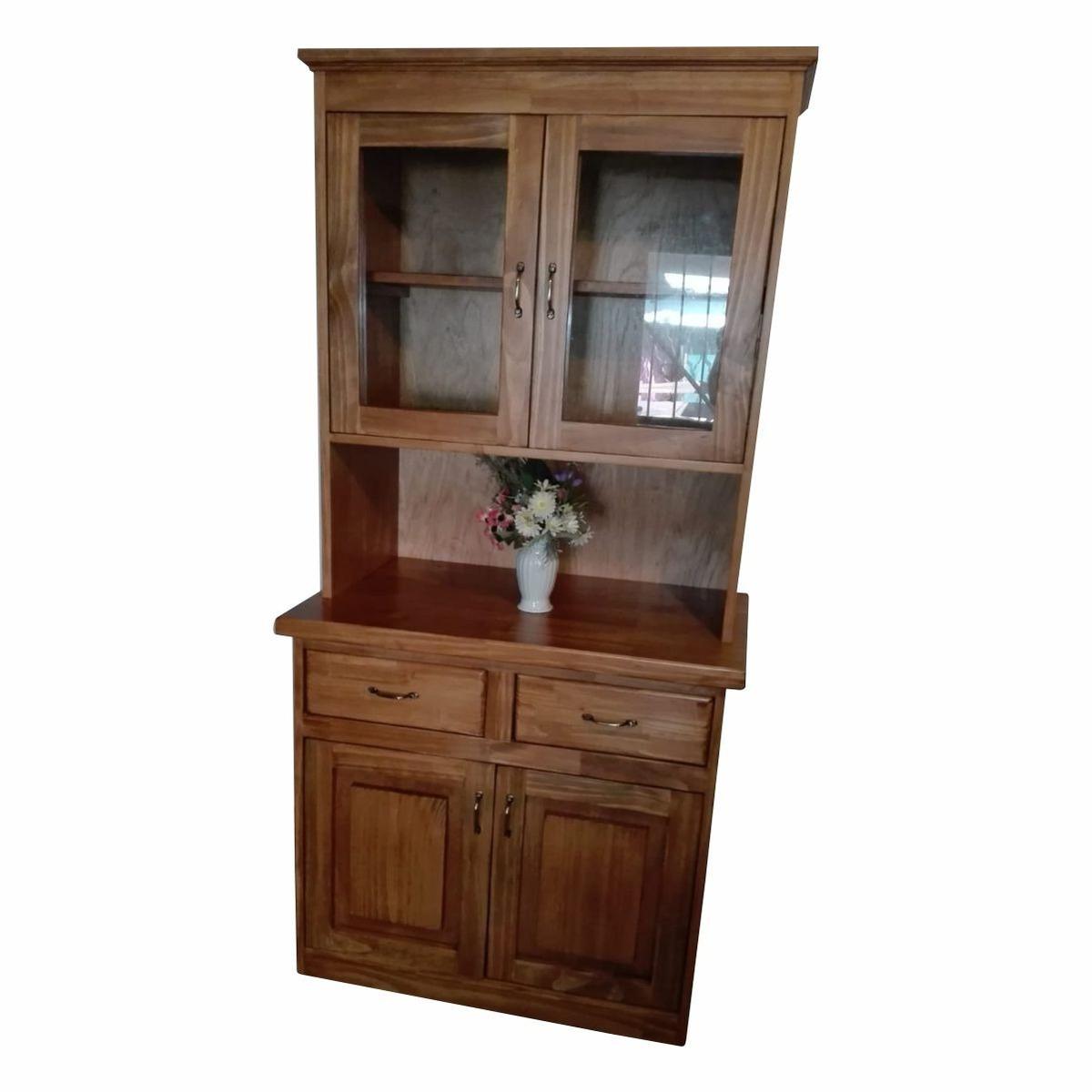 Mueble Rustico En Madera Para Cocina O Comedor