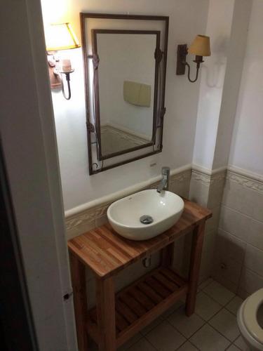 mueble rustico para bacha de baño