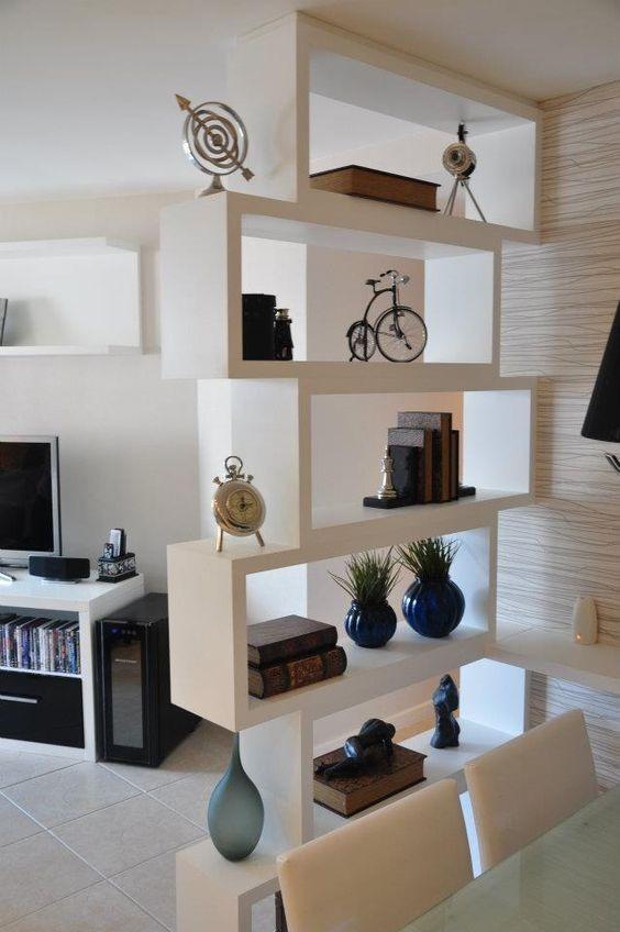 Mueble separador de ambientes 5 niveles en for Mueble separador de ambientes