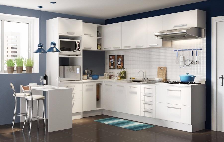 Muebles de cocina a medida entrega inmediata dise o 3d for Diseno cocinas uruguay
