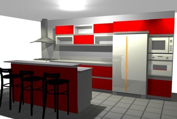 Muebles De Cocina A Medida/consultar Precio/diseño Gráfico. - $ 200 ...