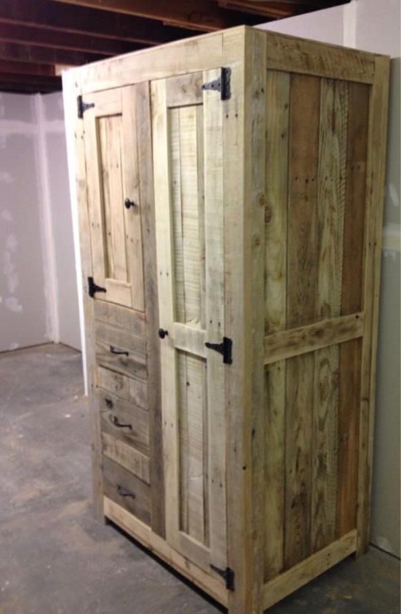 Muebles de cocina madera pallet palet en for Muebles jardin madera palet