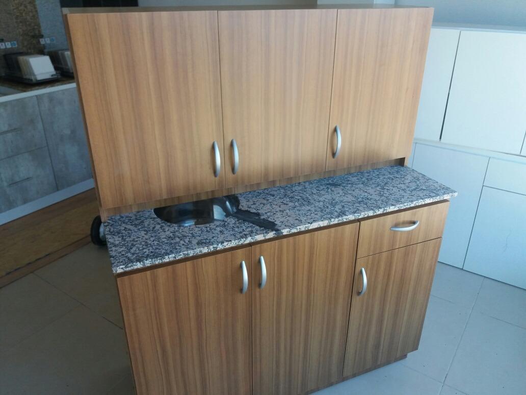 Muebles De Cocina Mdf 18mm Y Mesada De Granito, Super Oferta ...