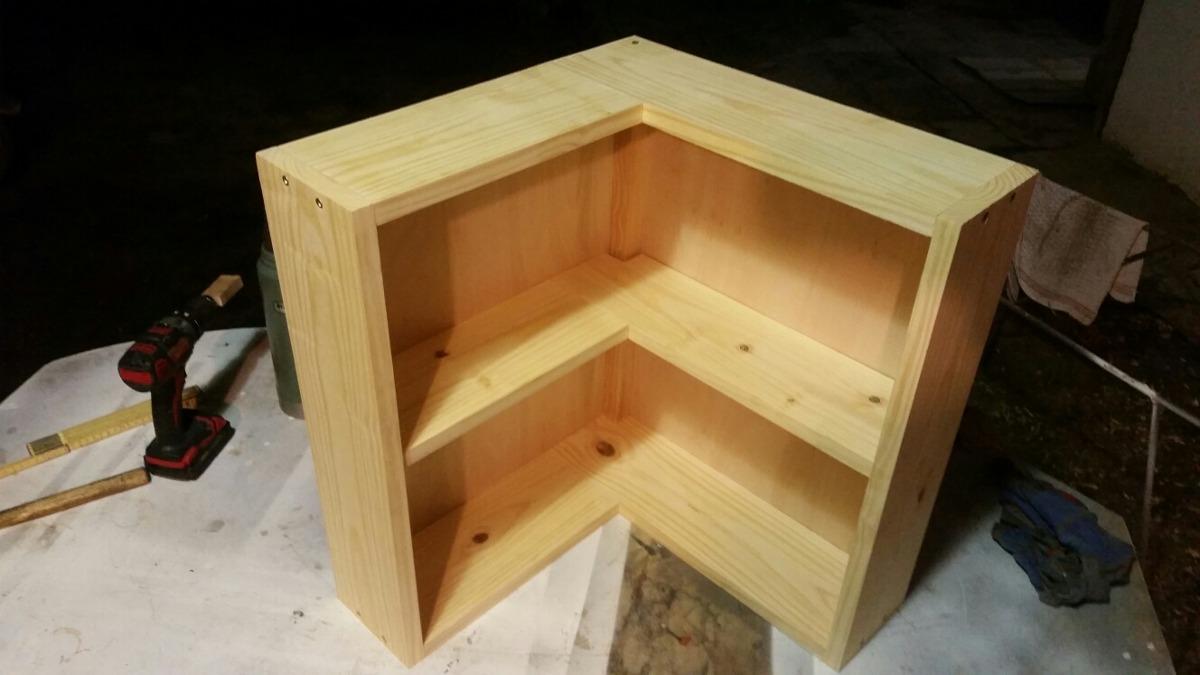Muebles Esquineros A Medida Baño Cocina Etc 100% Madera - $ 25,00 en ...