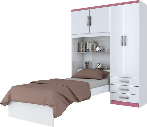 muebles mbs cama ropero dormitorio blanco mobelstore
