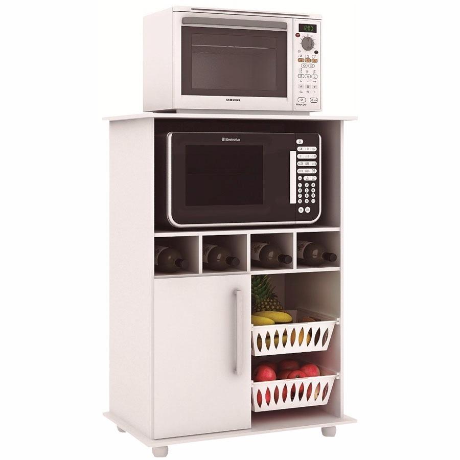Muebles Para Microondas Frutero Alacena Kit De Cocina