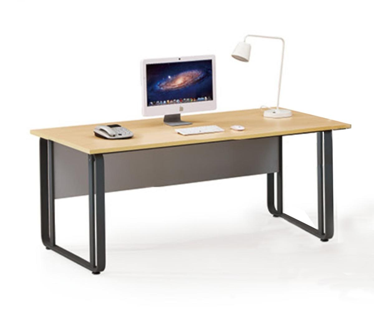 Muebles Para Oficina Mesa Bg-c01 1.60mts - $ 8.390,00 en Mercado Libre