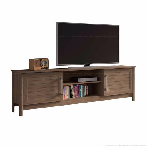 muebles rack tv puertas estantes oferta mobelstore