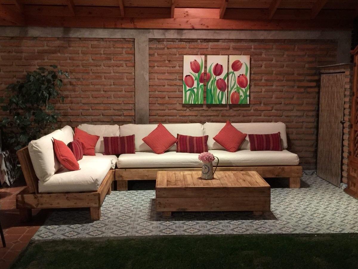 Muebles Rusticos De Palets Sofas Esquineros 9 500 00 En Mercado