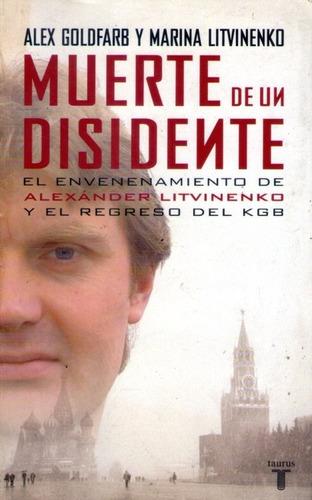 muerte de un disidente alex goldfarb-marina litvinenko