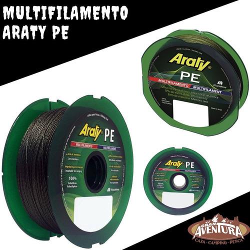 multifilamento araty 0.45 mm 100 mts