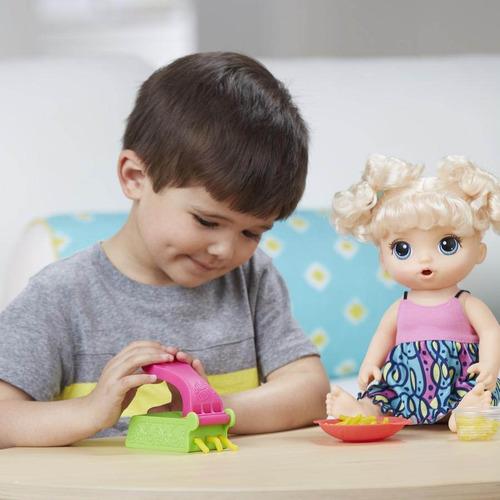muñeca baby alive hasbro espaguetis sonido frases - hb