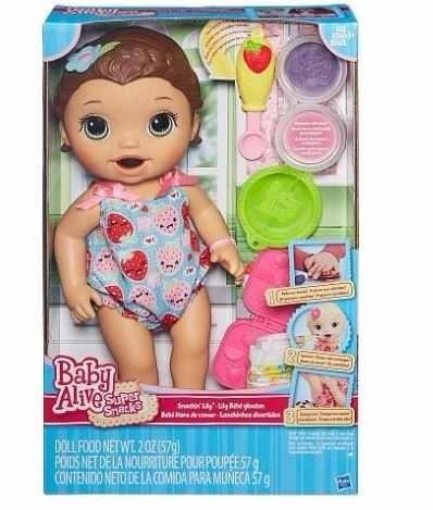 027a6d663e Muñeca Bebé Baby Alive Hora De Comer Morocha - Original -   1.870 ...
